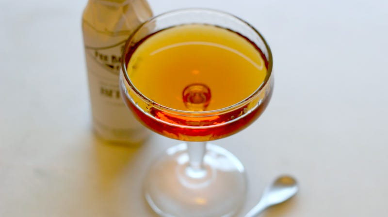 Illustration for article titled 3-Ingredient Happy Hour: The Rum Manhattan