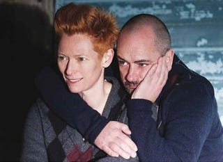 Illustration for article titled Tilda Returns As Face Of Pringle; Terry Richardson Says Sex Is Like A Drug
