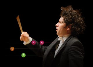 Illustration for article titled Bravo Gustavo iPhone App: Conductor's Baton Hero?