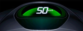 Illustration for article titled Honda Speedometer Changes Color When You Drive Crazy