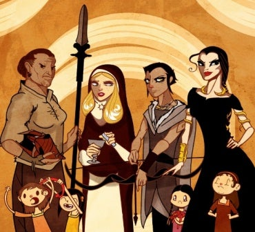 Illustration for article titled Sand Snakes!