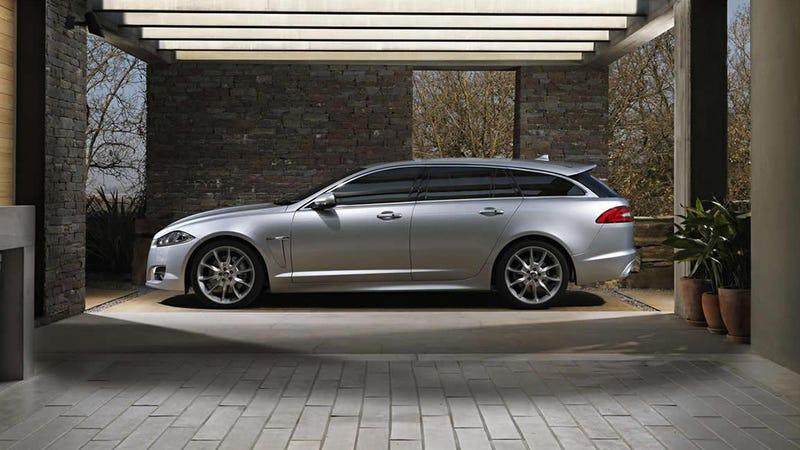 Illustration for article titled Jaguar XF Sportbrake Gallery