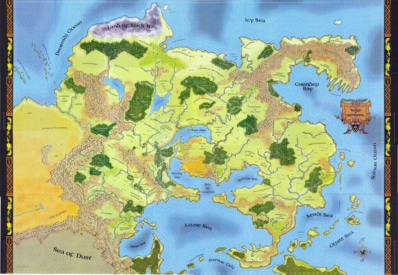 The Most Incredible Fantasy Maps You Ve Ever Seen