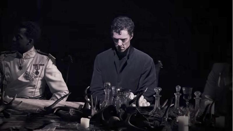 Image: Benedict Cumberbatch in Hamlet, via YouTube