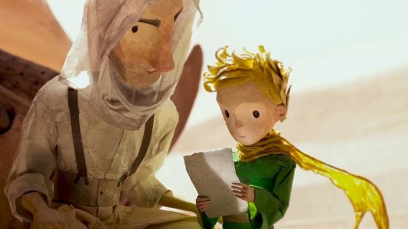 The Little Prince (Image: Netflix)