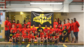 Members of the Piranhas swim team of the Bedford-Stuyvesant YMCA in Brooklyn, N.Y.New York City YMCA