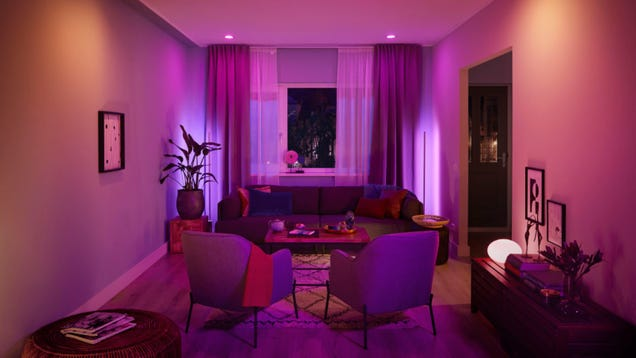 Brighten Things up With $45 off a Pack of Three Phillips Hue Light Bulbs