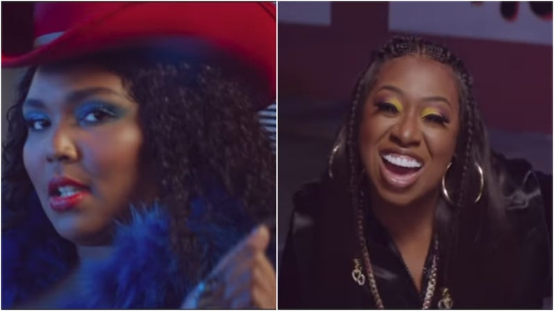 """Illustration for article titled Turn it up: Lizzo and Missy Elliott release long-awaited music video for """"Tempo"""""""