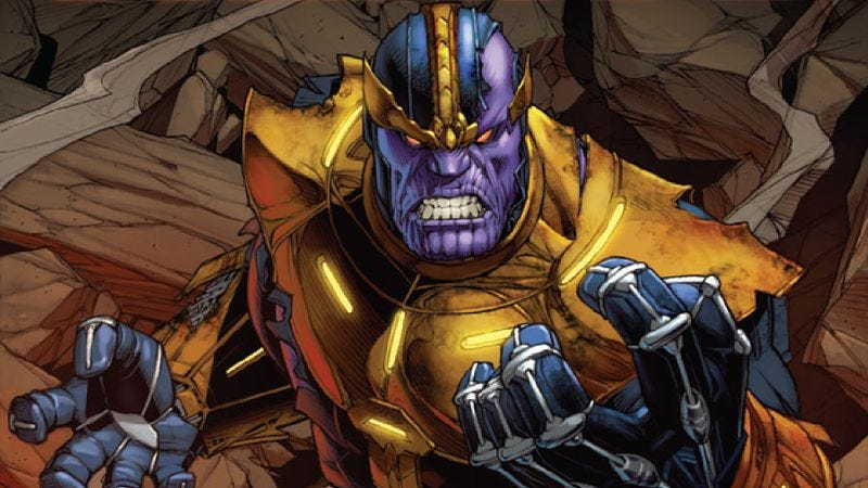 Illustration for article titled New releases include witzend, TW+TD, and Jim Starlin's Thanos Annual
