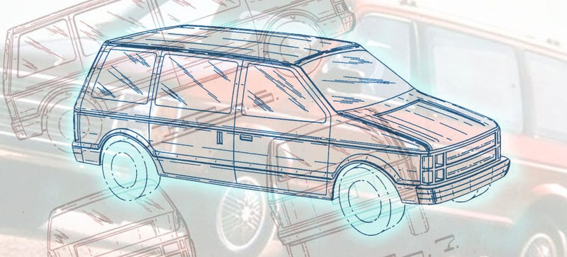 Illustration for article titled It's The 28th Anniversary Of The Chrysler Minivan Design