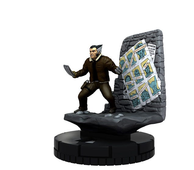 Free Comic Book Day Heroclix: Days Of Future Past Wolverine Heroclix Is Ripped From The