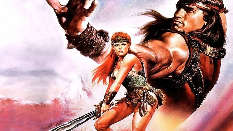 Illustration for article titled The Red Sonja movie has a new writer, might actually happen