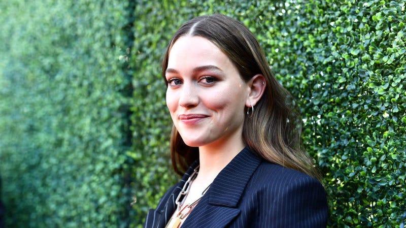 Victoria Pedretti attends the 2019 MTV Movie and TV Awards in Santa Monica, California.