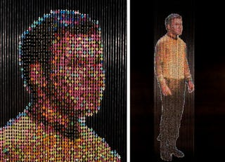 Bead Curtains Are Like So 1950s Huh Artist Devorah Sperber Doesnt Think Her Amazing Star Trek Much More Likely To Be Adorning