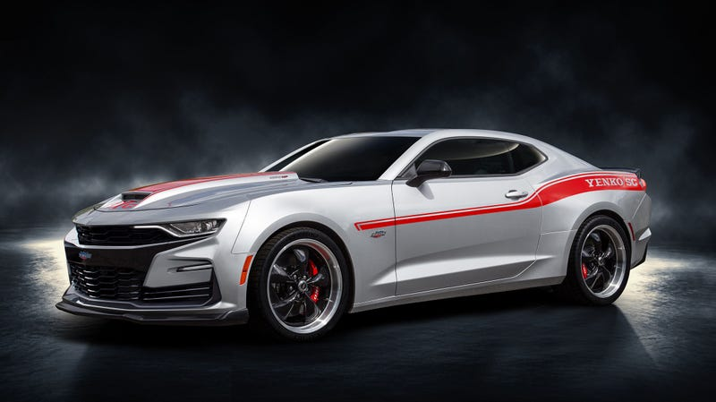 The 2019 Yenko Camaro Is A 1000 Hp Monster You Can Buy At The