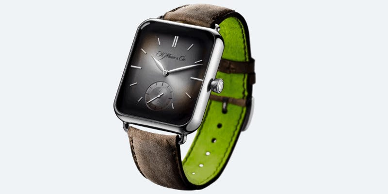 Illustration for article titled This $25,000 Mechanical Watch Looks Just Like Apple's