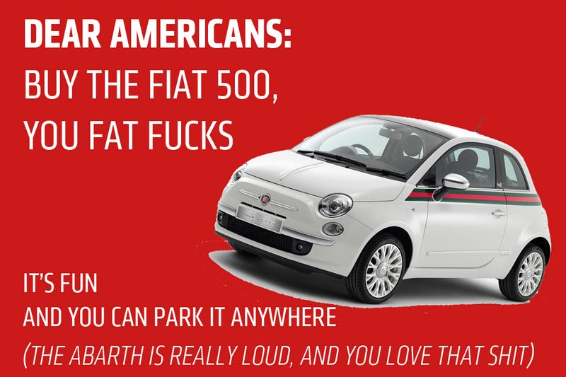 Illustration for article titled I Made This Fiat Ad