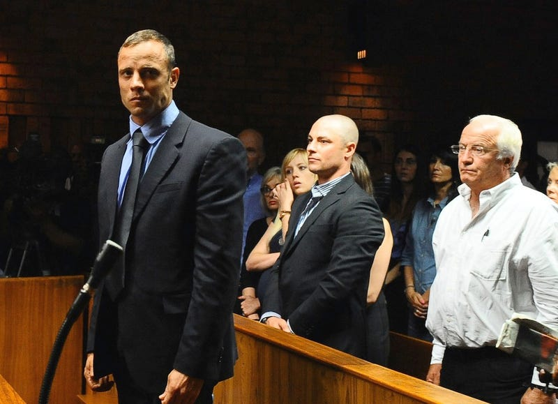 """Illustration for article titled Oscar Pistorius Is """"On The Verge Of Suicide,"""" Says Close Friend"""