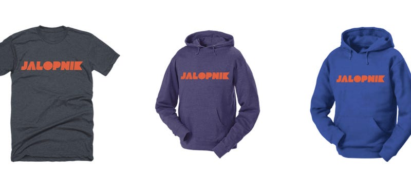 Illustration for article titled Because You Demanded It: We Are Finally Selling Jalopnik Swag (Including Stickers)
