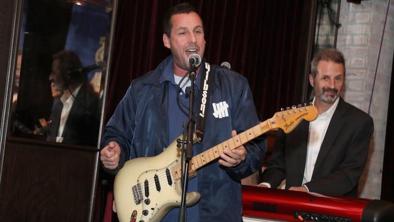 Sandler performs in Los Angeles in 2018