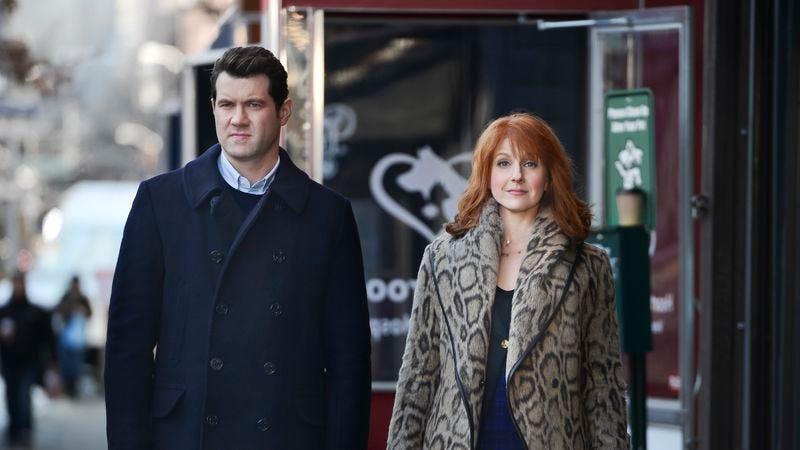 Billy Eichner and Julie Klausner (Photo: Hulu)