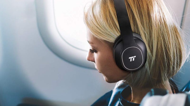 TaoTronics Noise Canceling Over Ear Headphones | $30 | Amazon | Promo code LOOBQZNM and $3 clippable coupon