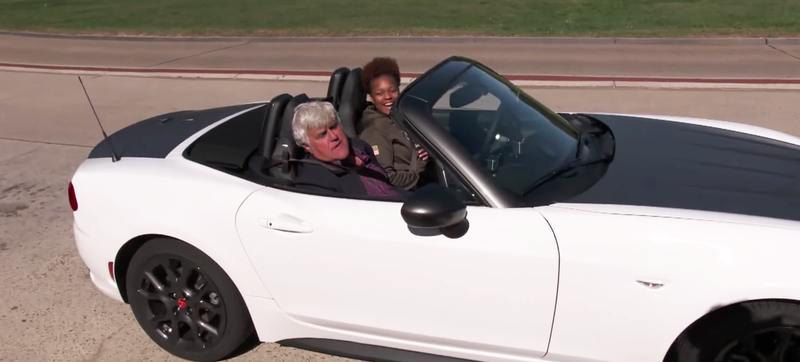 Screengrab from Jay Leno's Garage