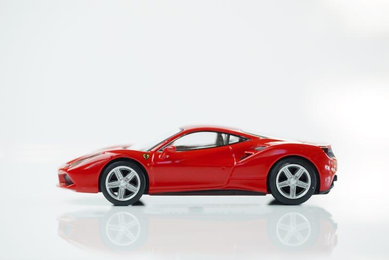 Illustration for article titled Kyosho Ferrari 11 1/64 #75 - Project Prancing Horse #75 - 2015 Ferrari 488 GTB