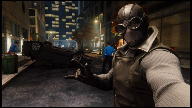 Something close to the Noir Suit from the Spider-Man video game is coming to the big screen sooner rather than later.