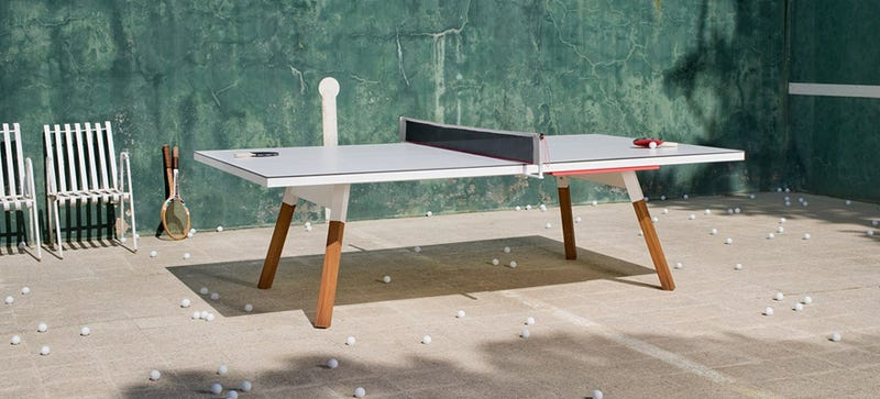 Illustration for article titled The Perfect Desk Could Also Be a Regulation Ping-Pong Table
