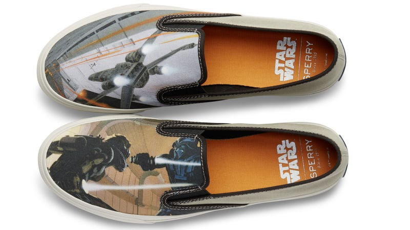 Sperry's new Star Wars shoes. All Images: Sperry