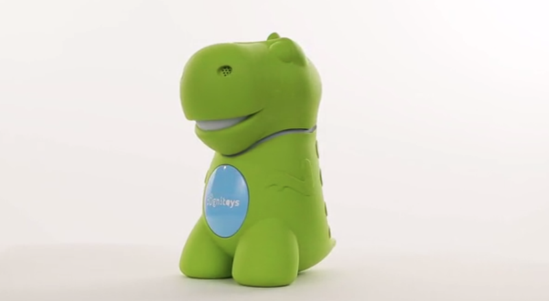 Illustration for article titled El cerebro de este dinosaurio de juguete es un potente superordenador