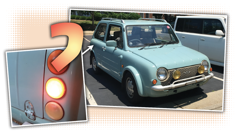 Illustration for article titled See if You Can Figure Out the Bizarre and Baffling Problem I Had With My Nissan Pao