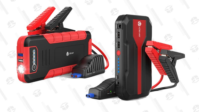 Choose from Two iClever USB Battery Packs That Can Also Jump Start Your Car