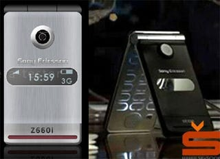 Illustration for article titled Sony Ericsson Z660i Leaked Image, May Not be Genuine
