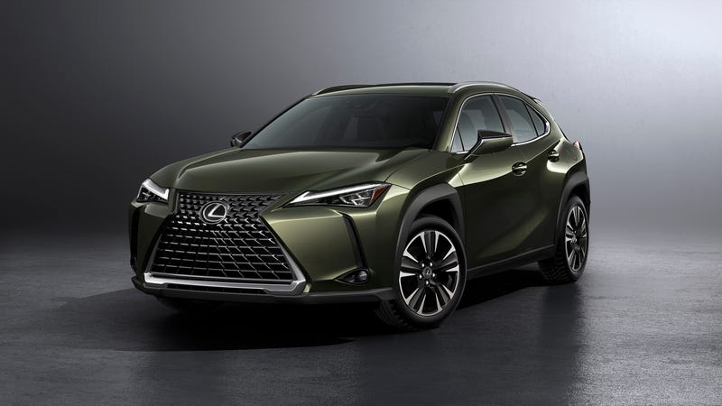 Illustration for article titled I Am Emotionally Prepared To See The 2019 Lexus UX Compact Crossover Everywhere