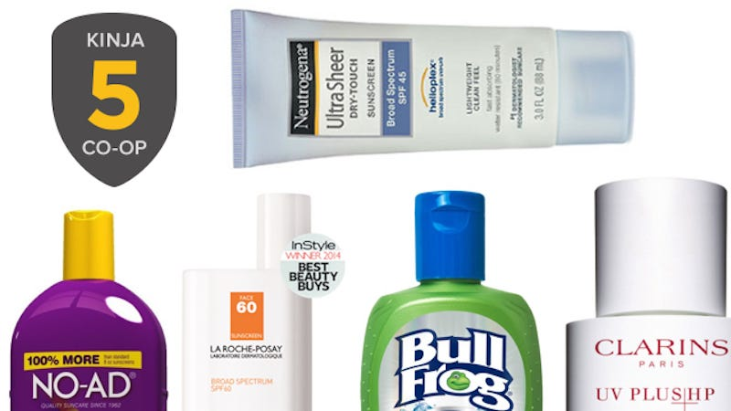Illustration for article titled Your Top Five Picks For Best Sunscreen