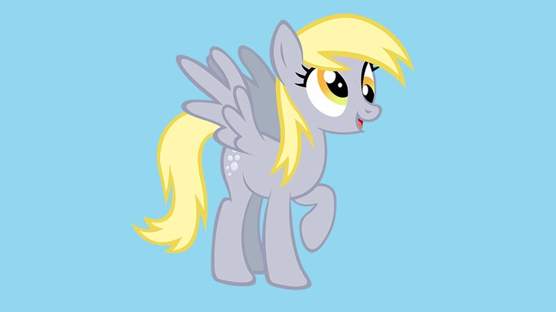 A character that was previously named Derpy, from My Little Pony. Image Source: Cartoon Network