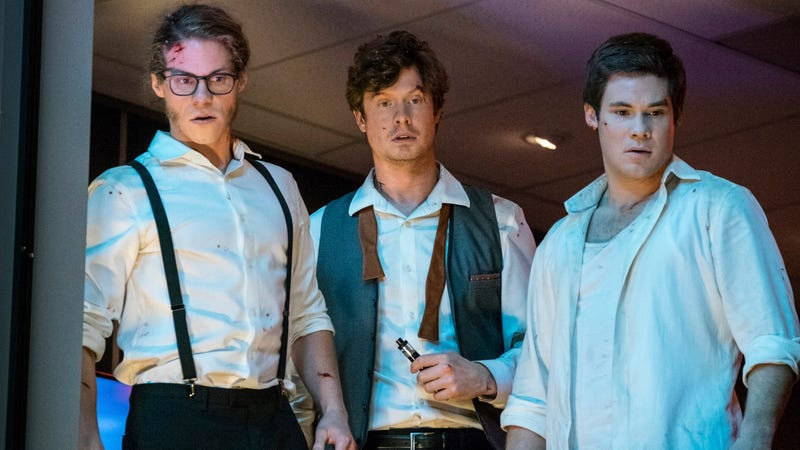 Illustration for article titled The Workaholics pack is back in new Netflix comedy Game Over, Man!