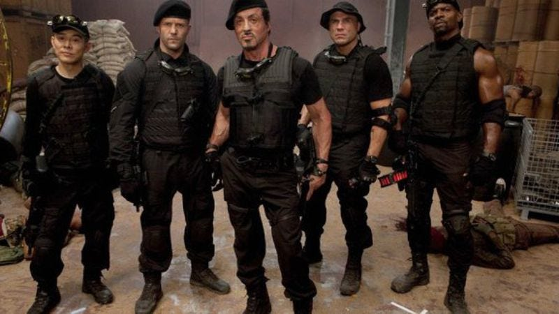 Illustration for article titled Judge dismisses lawsuit claimingThe Expendables was based on a stolen idea