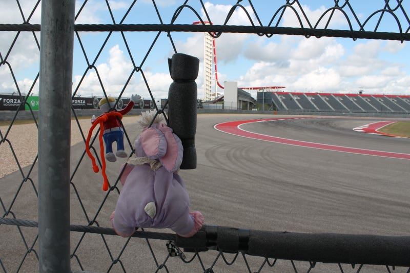 Illustration for article titled Have You Seen Mr. Bill At Circuit Of The Americas?