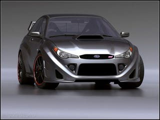 Illustration for article titled Subaru Impreza WRX STI Concept