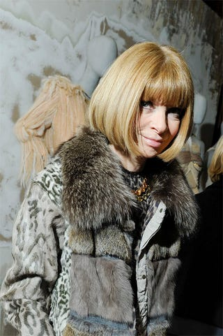 Illustration for article titled Anna Wintour Sees Nothing Wrong With Richardson's Behavior; Lourdes Raids Madge's Closet
