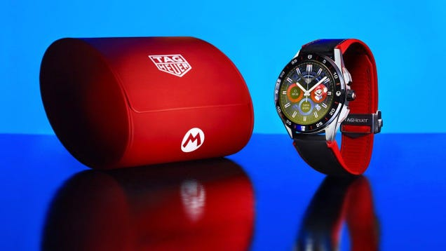 Tag Heuer s $2,000 Super Mario Smartwatch Is Ugly