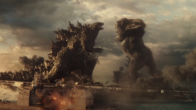 Godzilla vs. Kong s Epic First Trailer Launches a Clash of Titans