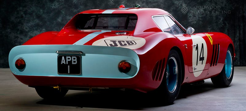 Illustration for article titled What Makes This Ferrari 250 GTO Unique Is That It's Regularly Driven