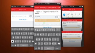 Fantastical for iPhone Adds a New Drafts Mode