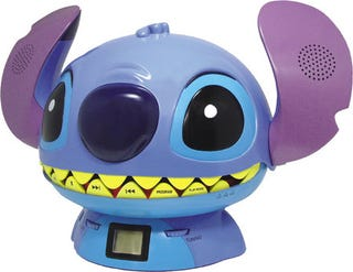 Illustration for article titled Oh Joy! Stitch CD Player Rocks My Tiny, Childlike Brain