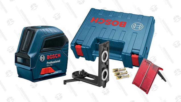 Get Your Installation Done Right the First Time, Bosch s Self-Leveling Laser Falls to $96