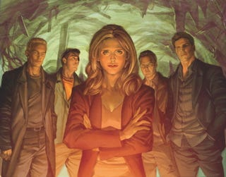 Illustration for article titled An exclusive sneak peek at the cover of Buffy's final graphic novel